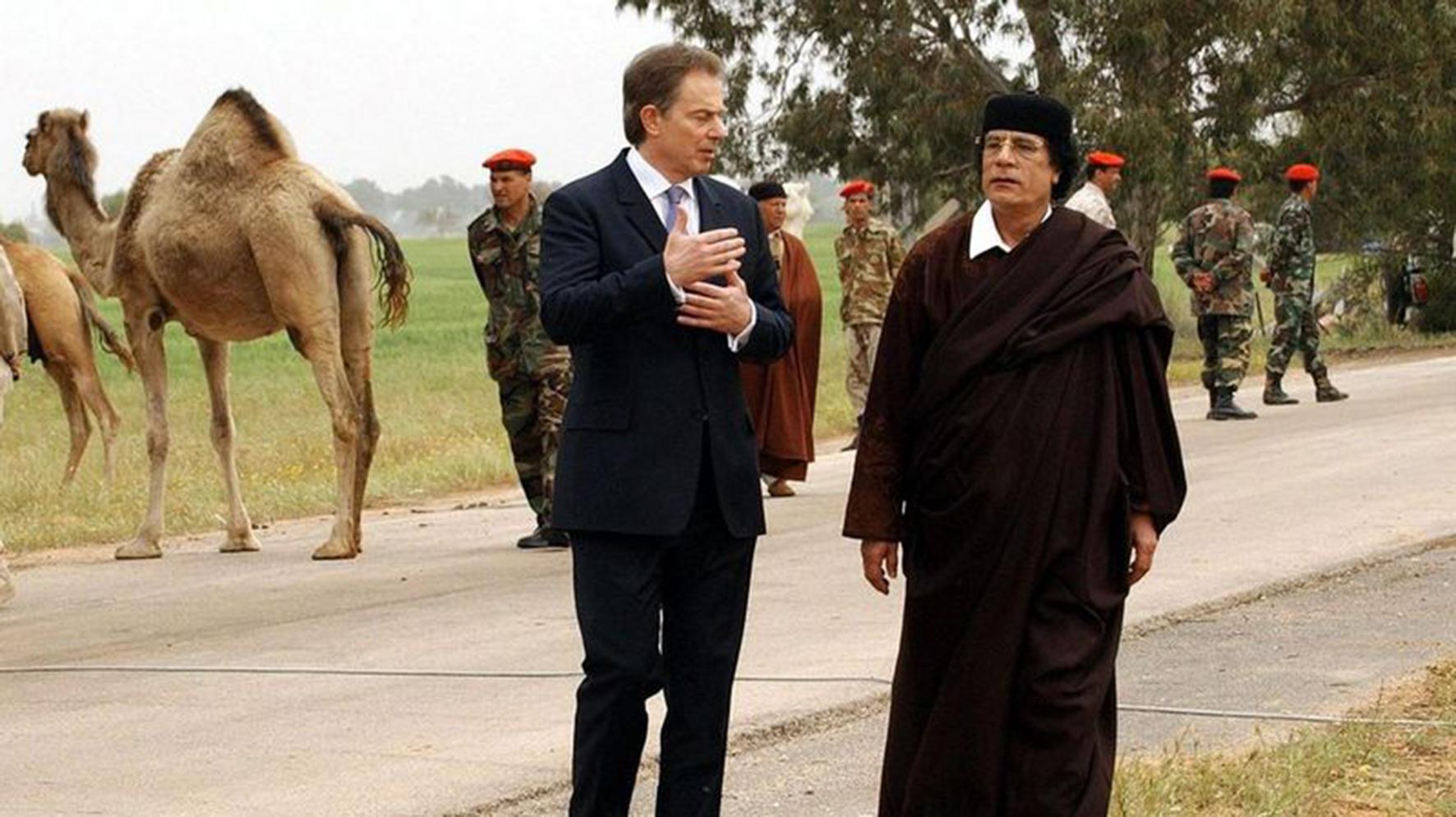 Blair-Kadhafi
