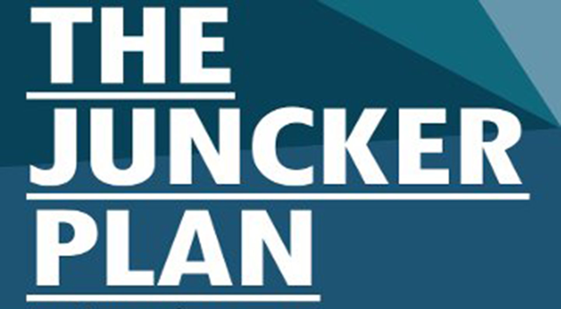The Juncker plan