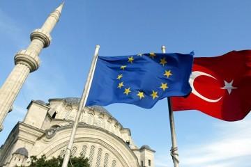 Drapeaux UE Turquie