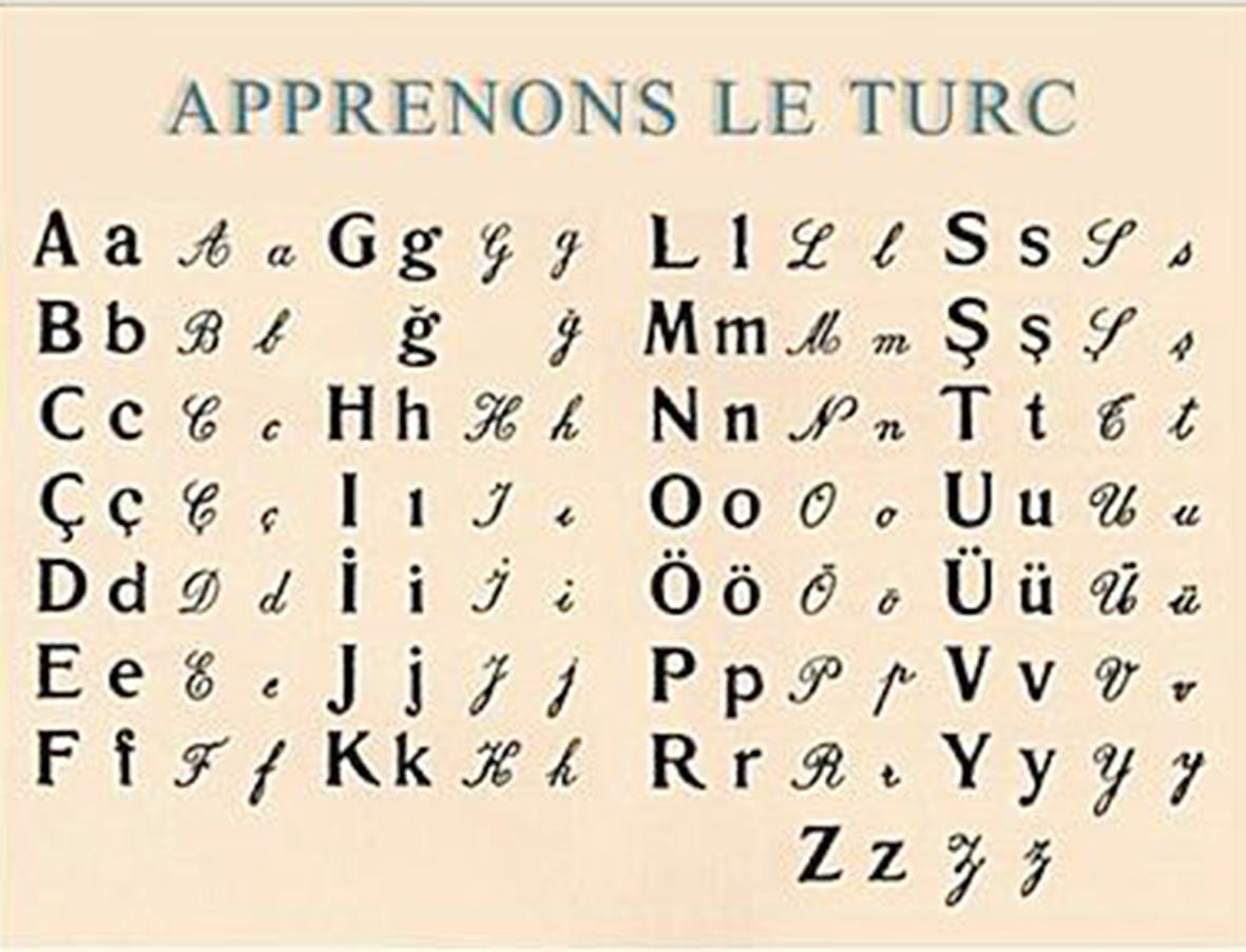 Apprenons turc