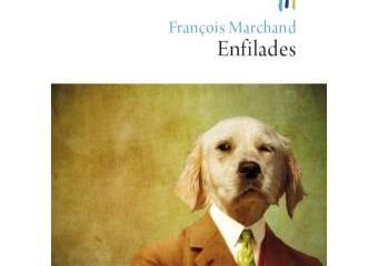 """""""Enfilades"""" de François Marchand (Le Rocher)."""