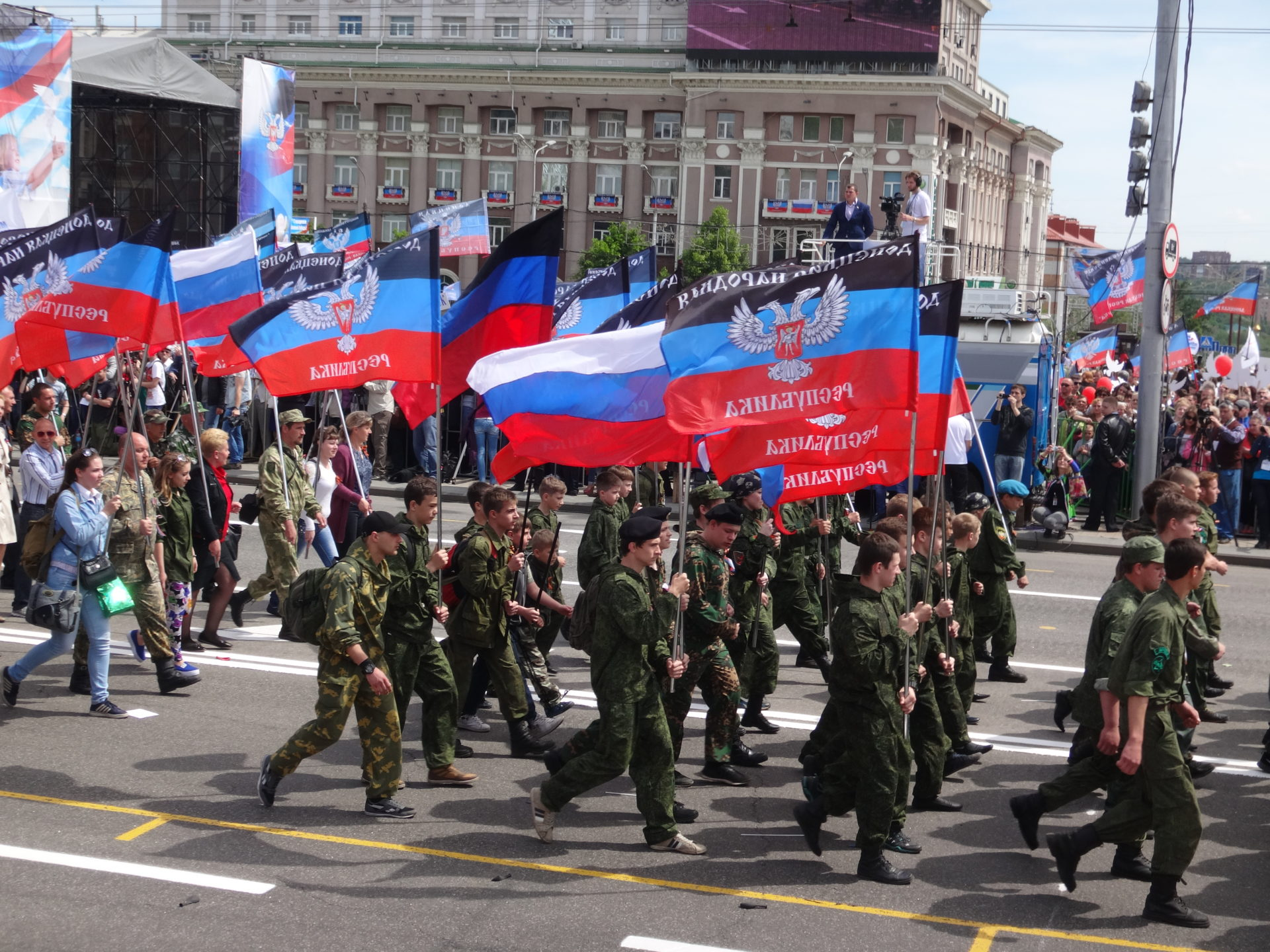 Défilé parade du 11 mai