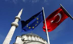 Drapeaux Europe Turquie