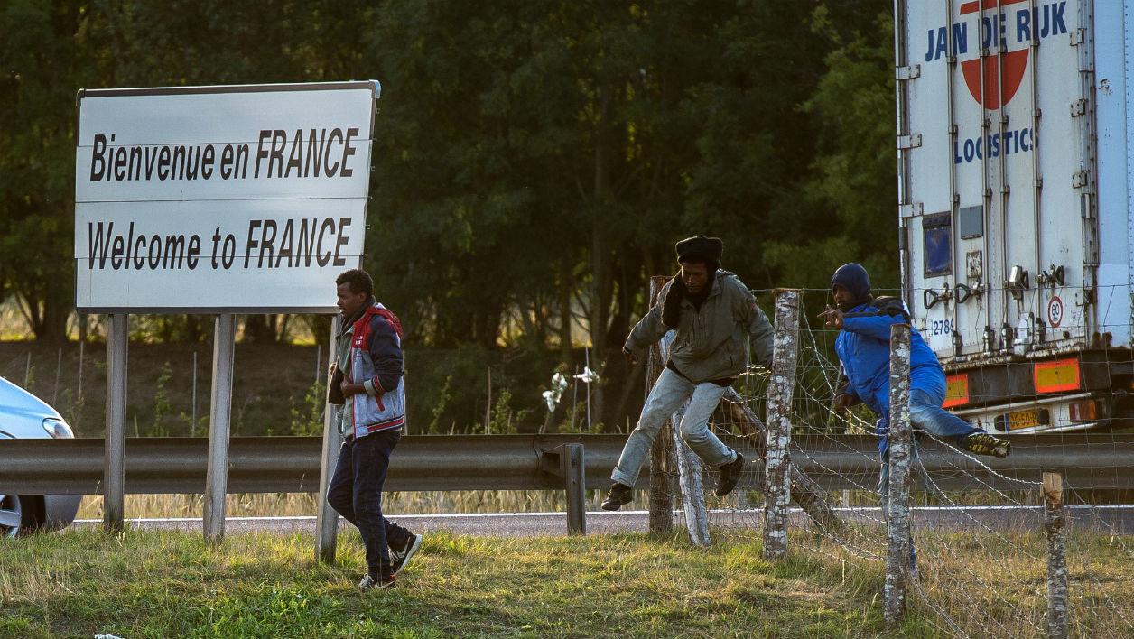 Migrants frontière