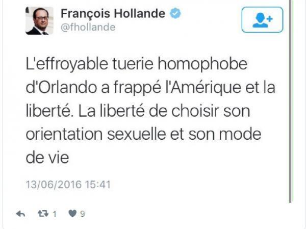 Tweet Hollande
