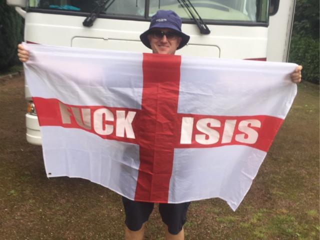 Drapeau Fuck ISIS