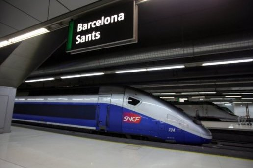 TGV Barcelone
