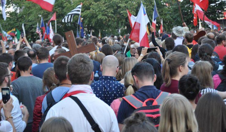 Les Journées Mondiales de la Jeunesse vues de Pologne.