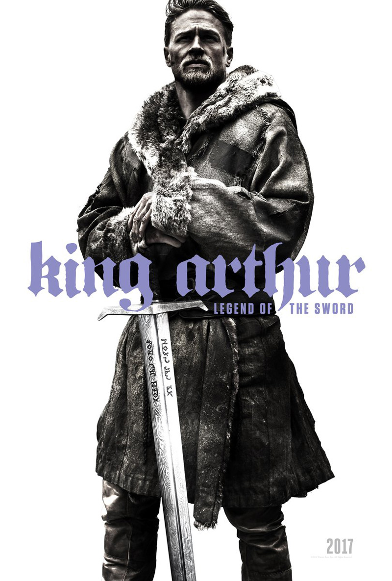 """""""King Arthur, legend of the sword"""" : première affiche du film"""