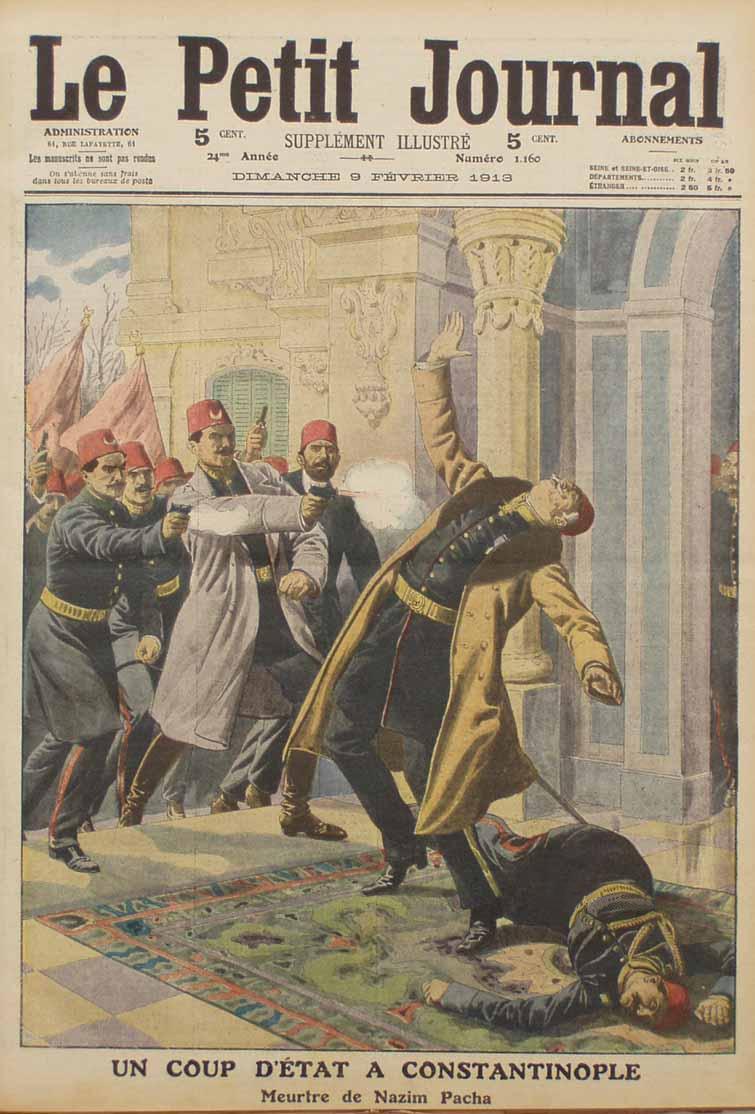 9 février 1913 : Un coup d'État à Constantinople.