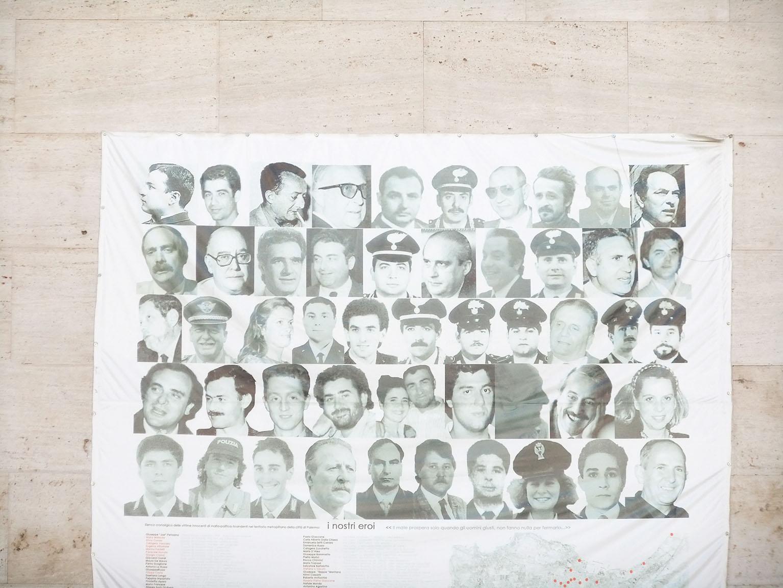 Victimes de la mafia, pour honorer leur mémoire © Jean-Claude Rolinat.