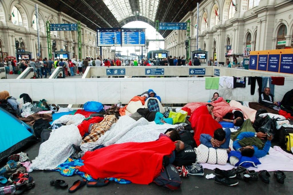 Réfugiés syriens en France.