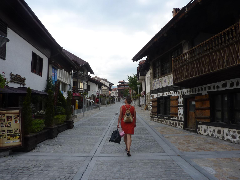 Dans la vieille ville de Bansko…