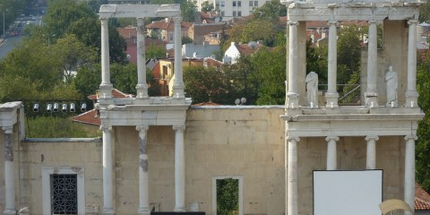 Théâtre antique de Plovdiv.