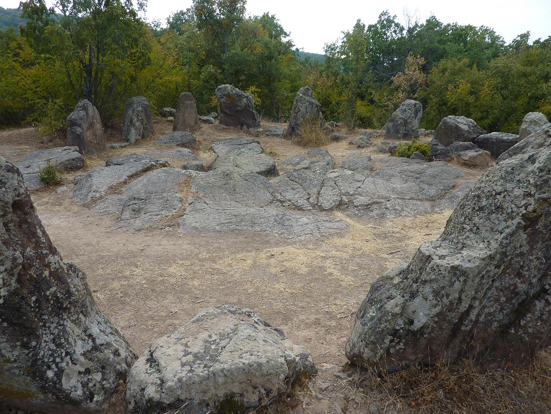 Cromlech de Dolni Glavanak (Rhodopes orientales).