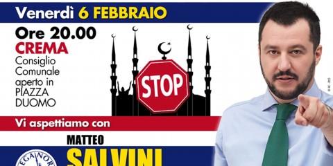 Affiche Lega Nord.