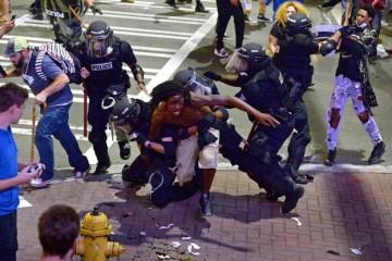 Émeutes Charlotte