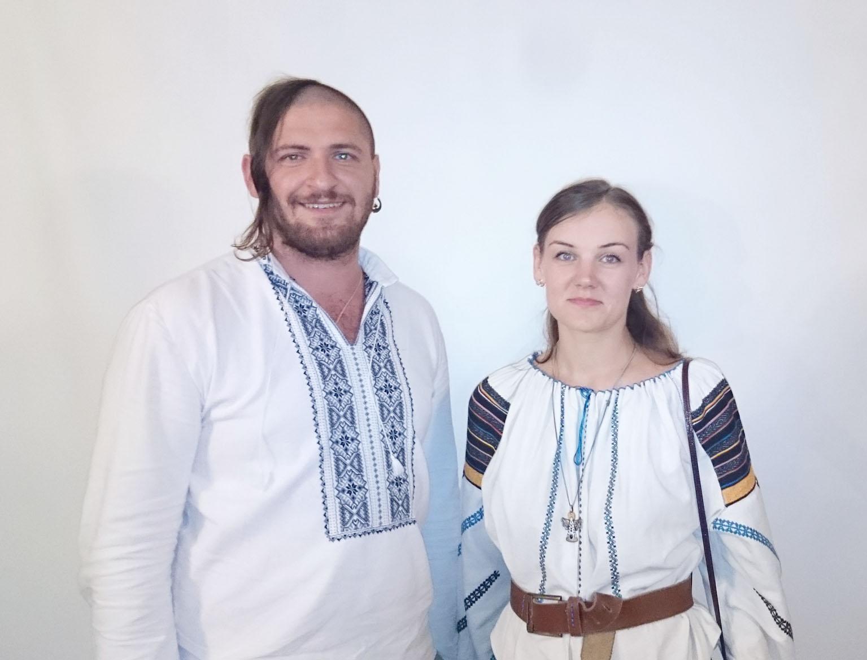 Alexander Tkachuk et Lesya Voronyuk.