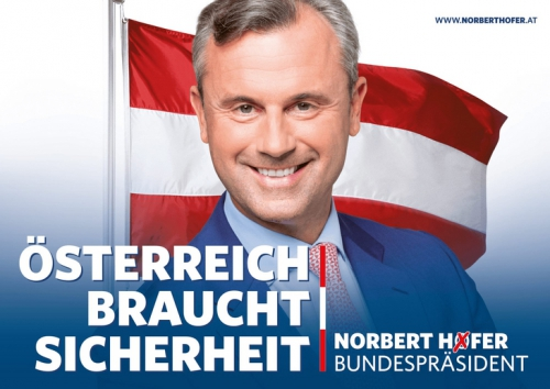 L'Autriche a besoin de sécurité: Norbert Hofer président.