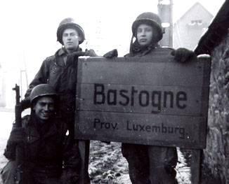 Américains à Bastogne.