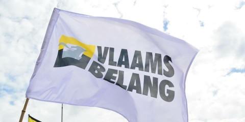 Drapeau Vlaams Belang.
