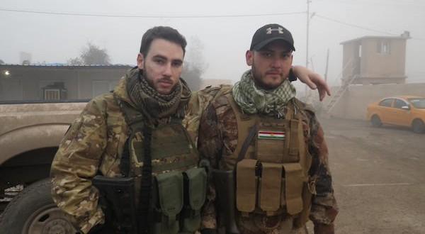 Guillaume front en Irak.