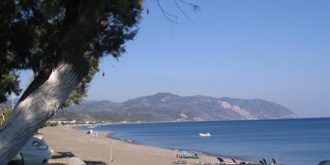 L'île de Lesbos.
