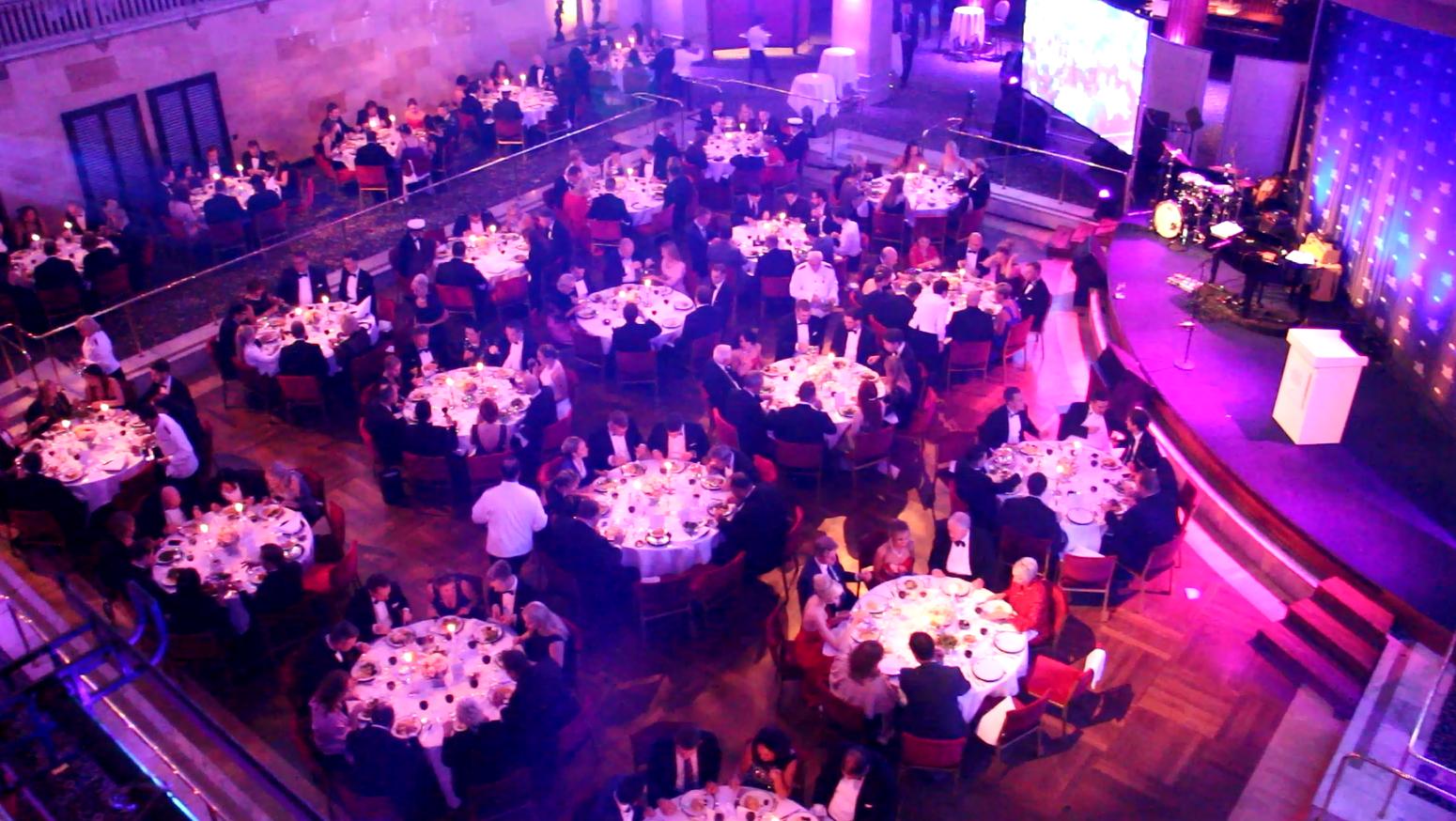 Le dîner avait lieu au Grand Hotel de Stockholm