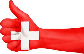 Pouce Levé - Croix suisse