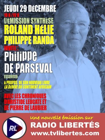 Émission Synthèse du jeudi 29 décembre 2016 avec Philippe de Parseval.jpg