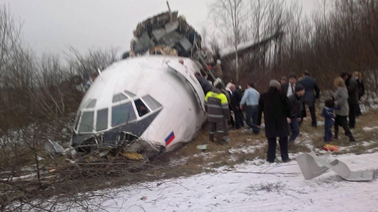 Crash d'un avion russe en mer Noire: le Tupolev-154