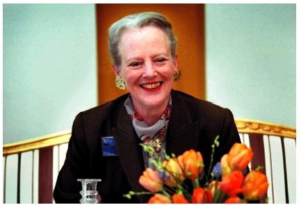 Sa Majesté Margrethe II, reie du Danemark.