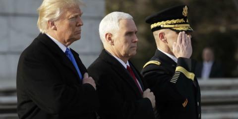 Trump investiture Maison Blanche Président