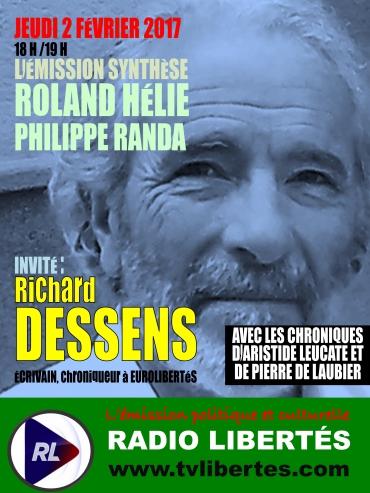 Synthèse Radio Liberté Richard Dessens