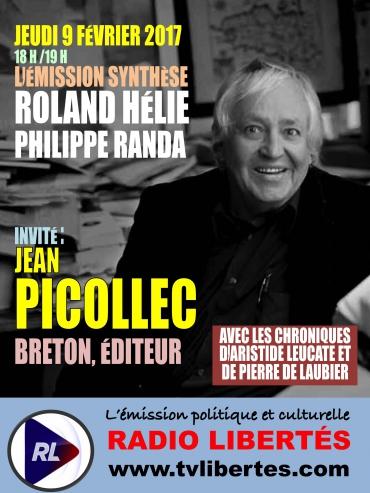Émission Radio LIbertés avec Jean Picollec