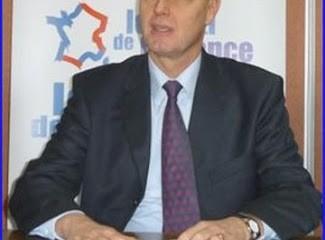 Carl Lang, président du Parti de la France.