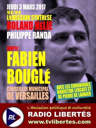 Radio Liberté Émission Synthèse Fabien Bouglé