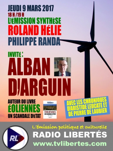 Émissions Synthèse sur Radio Librtés avec Alban d'Arguin.