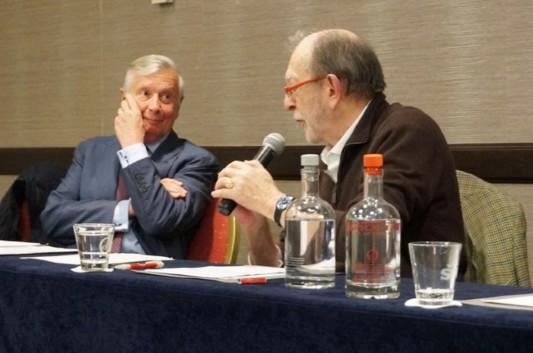 Alain Lefebvre et Alain de Benoist.