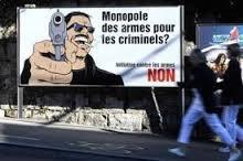 Affiche Armes Monopole Criminels