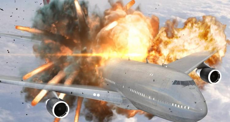 Explosion en vol