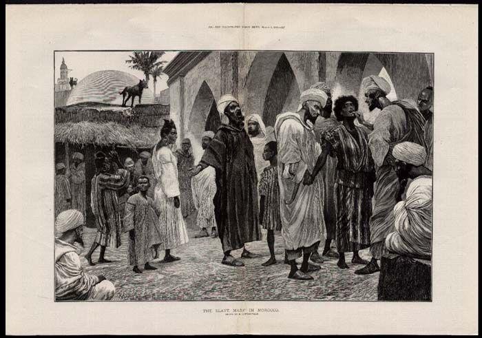 esclaves des Arabes