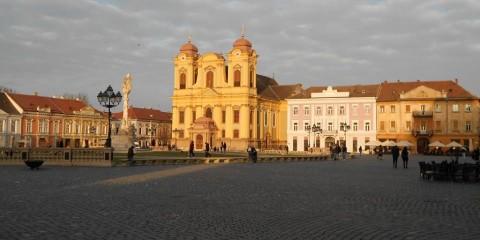 Timisoara : la place Urnirii.