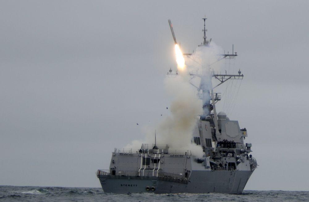 Tir missiles US