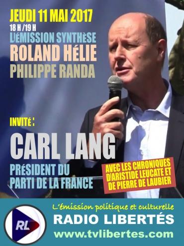 RL invite Synthèse Carl Lang
