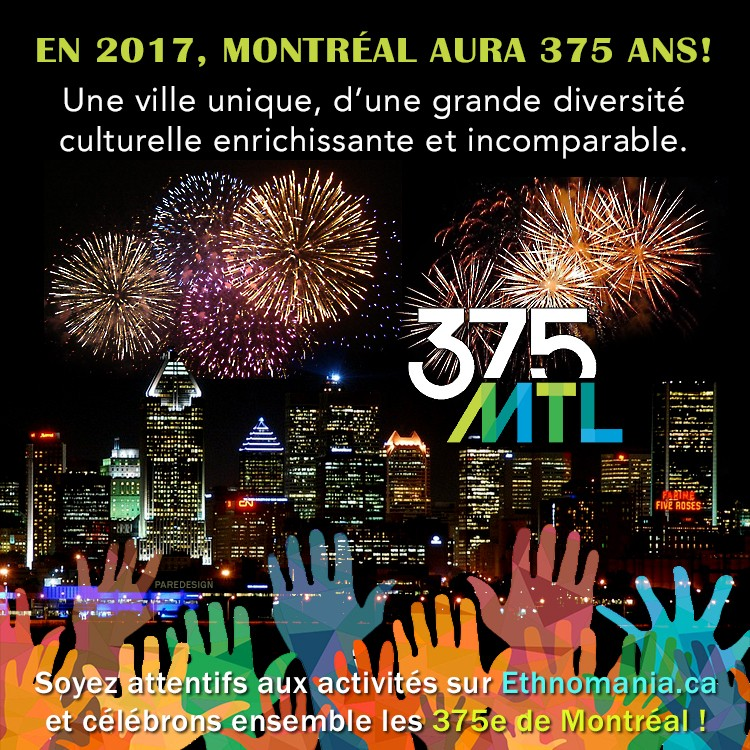 375 ans de Montreal
