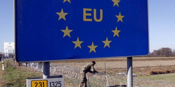 L'Europe et ses frontières.