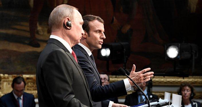 Poutine Macron