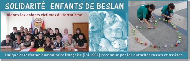 Solidarité enfants Beslan