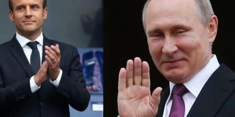 Macron Poutine